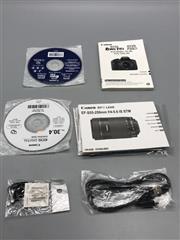 CANON EOS REBEL T6I SLR CAMERA, 24.2MP, EFS 18-55/55-250MM LENSES